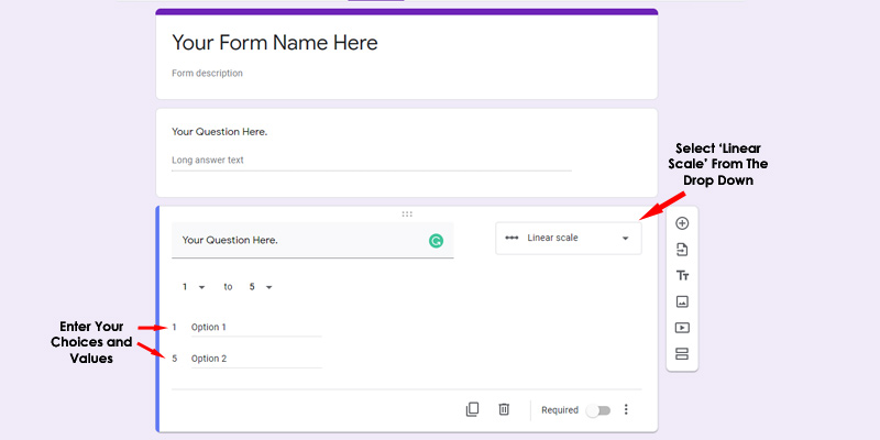 How to Create Google Form Part -2