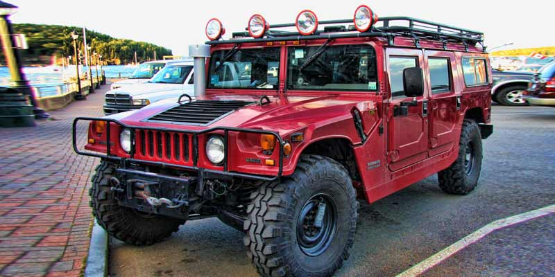 Hummer H1 | Ten Most American Cars