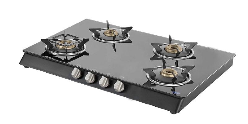 Kaff KCM69 4BSBJ 4 Burner cooktop