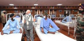 Modi Ladakh Visit