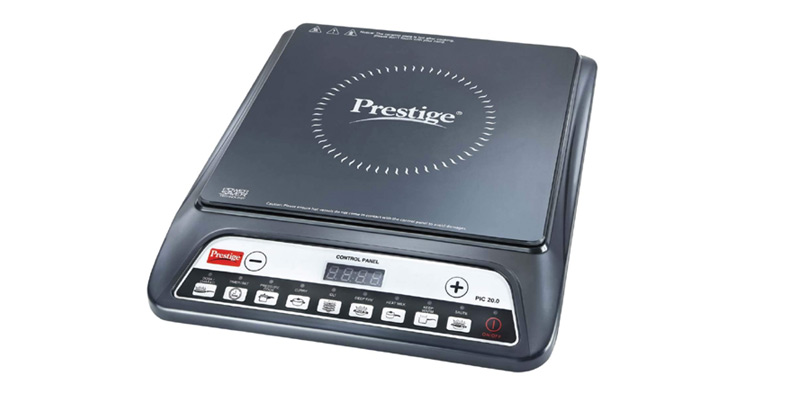 Prestige PIC 20 1200 Watt Induction Cooktop | Induction Cooktops Under Rs 1500 in India