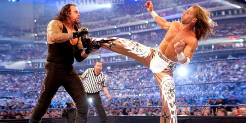 Shawn Michaels vs Undertaker WWE