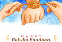 Social Distancing Rakhi