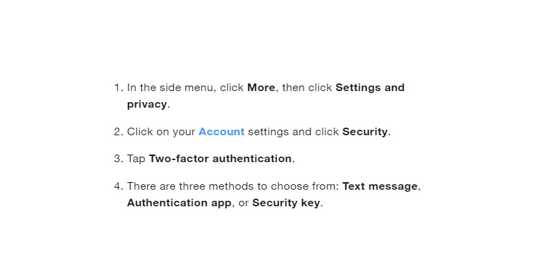 Two Step Verification & Verify Login Twitter