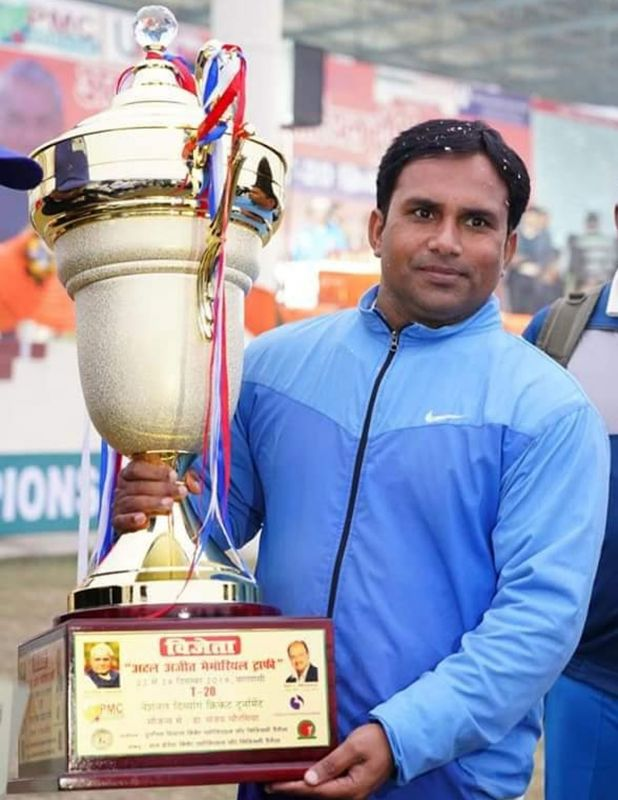 dinesh sain cricketer