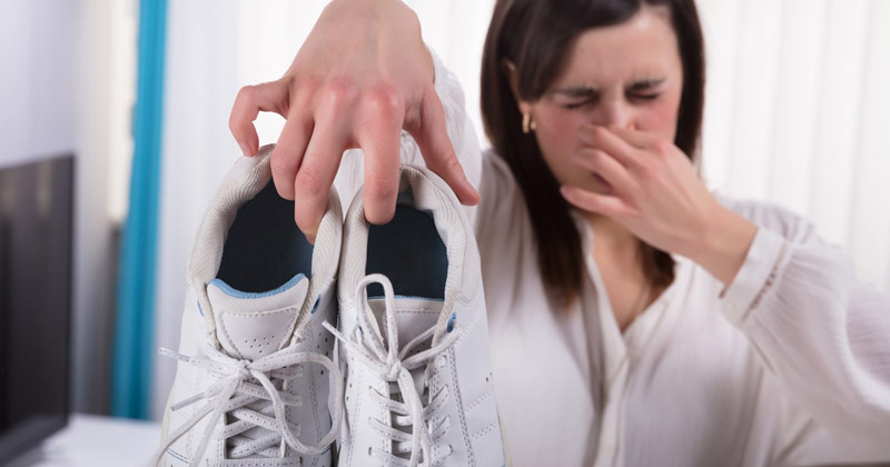How to remove Shoe odor