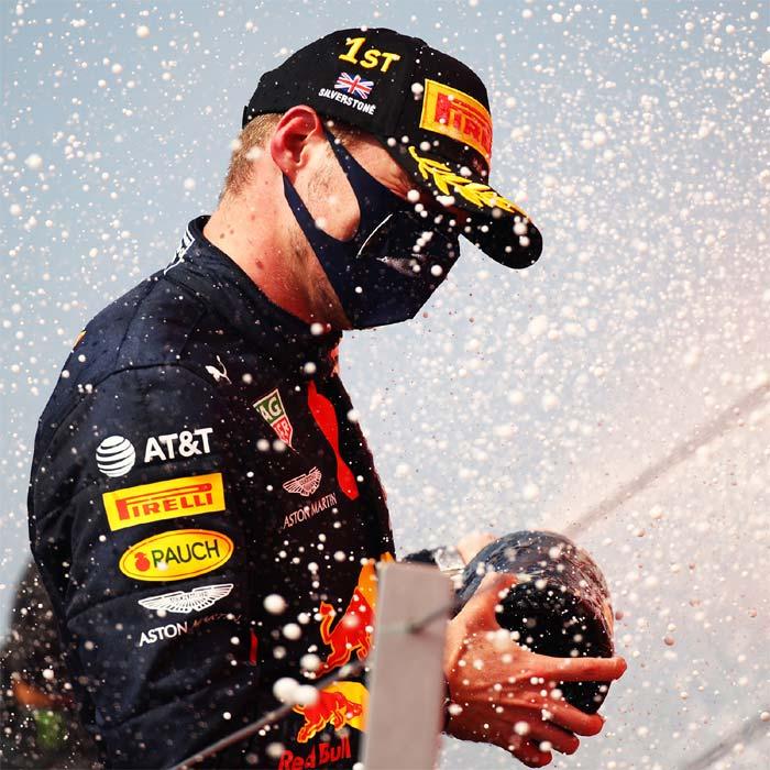 Max Verstappen wins 70th anniversary GP