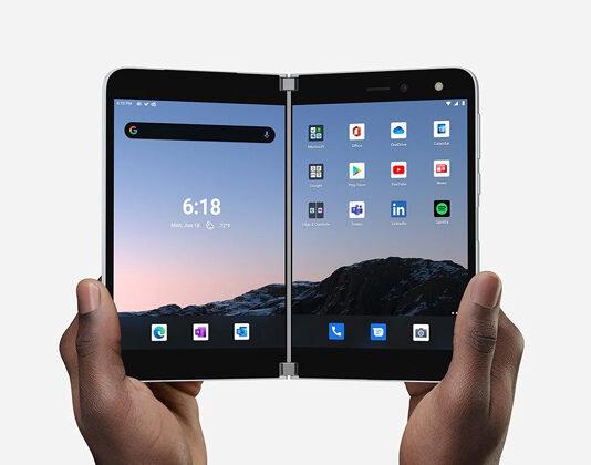 Microsoft Surface Duo Foldable Smartphone