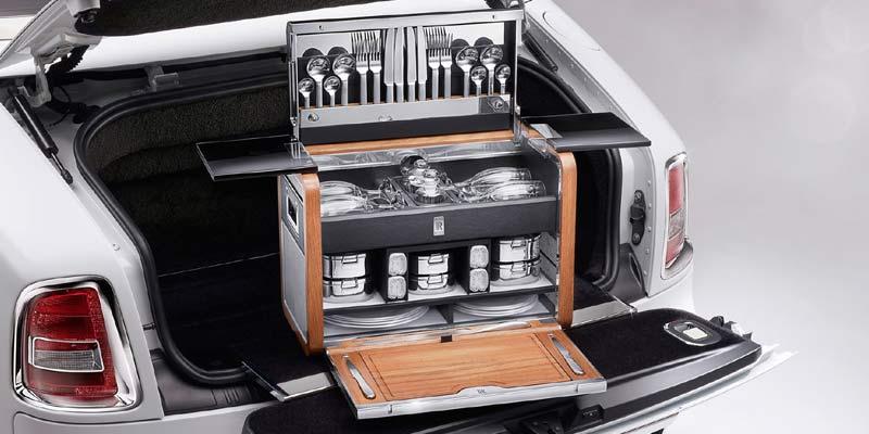 Rolls Royce Picnic Basket | Bizarre Car Accessories