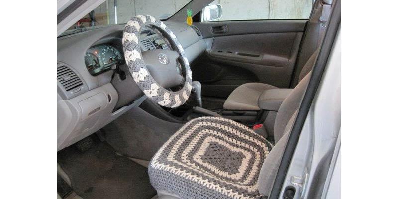 Seat Cover Crotchet