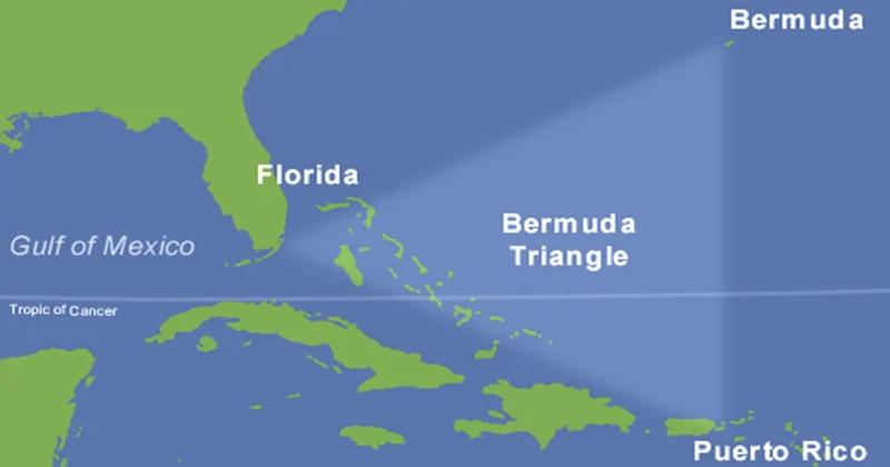 Secret of Bermuda Triangle