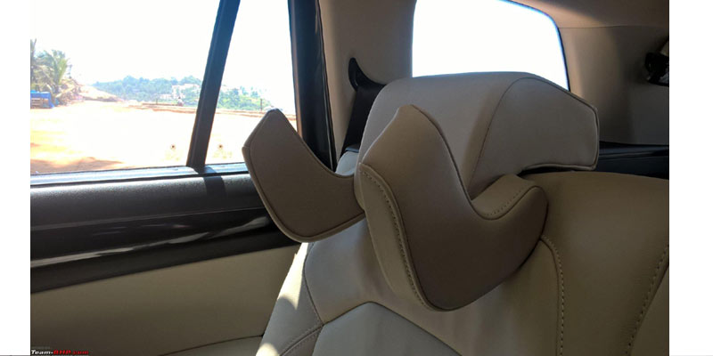 Skoda Kodiaq Rear Seat Headrest | Bizarre Car Accessories