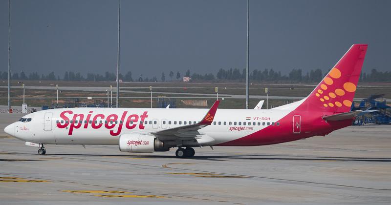 Spicejet Repatriation Flight