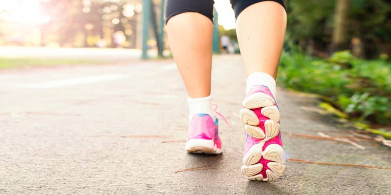 Woman Walking | Tips to Boost Metabolism