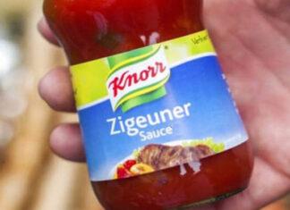 Zigeuersauce Knorr racism in Germany