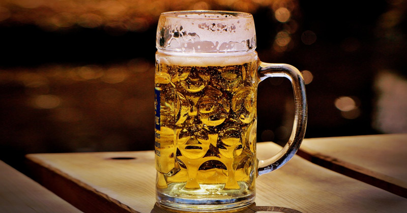 beer-drinking in Europe