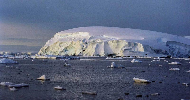methane leak in Antarctica