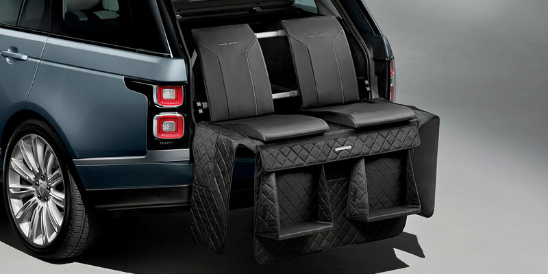 range rover tailgate seating