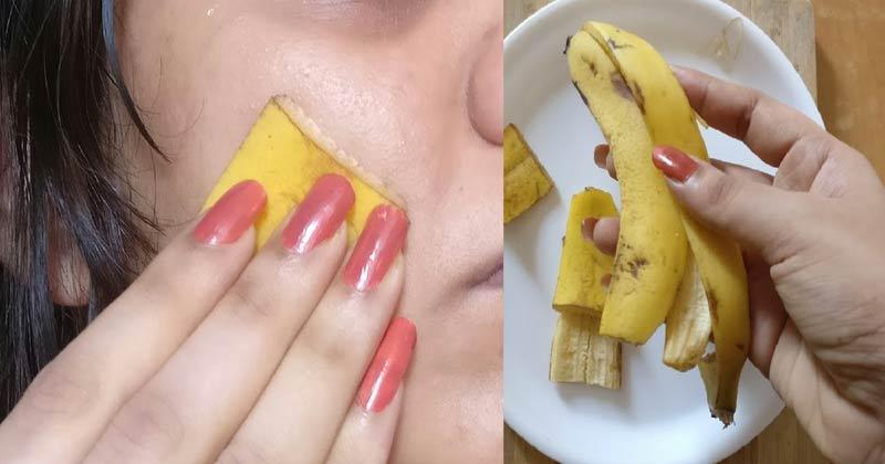 Banana Peel for Skincare  | banana Peel for face