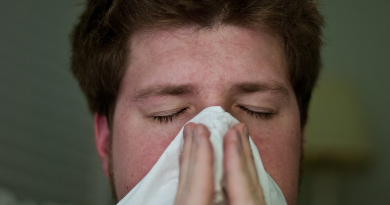 Blowing Nose   Home Remedies For A Blocked Nose