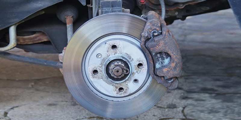 Rusted Brake Pads | Signs of Car Brake Problems