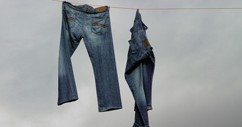 Clothing Hacks for Smelly Jeans