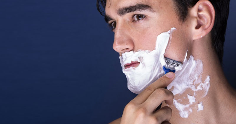 Man Shaving   Common Shaving Mistakes   Common Bathroom Mistakes