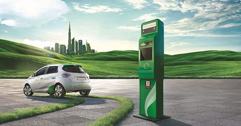 Dubai QR Enabled Charging Stations