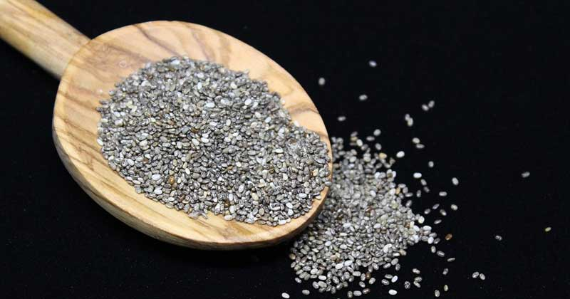 Spoon Full Of Chia Seeds   How To Use Chia Seeds