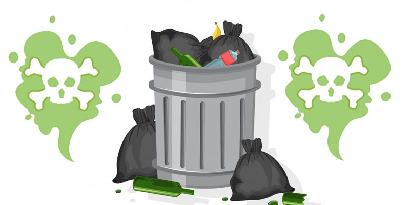 How to Remove Bad Odour From Trash Can | how to keep the dustbin smell free
