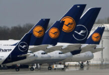 Lufthansa Aeroplane Fleet Parking | Lufthansa Suspends Flights to India