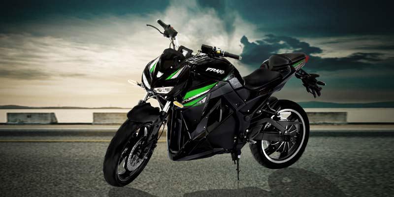 Prana SriVaru Motors | best electric bikes in India