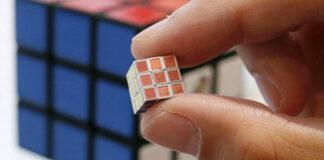 World Smallest Rubik Cube Japan