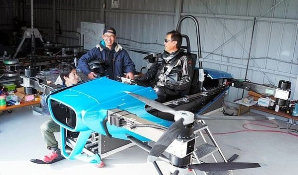 Japanese Flying car | worlds smallest flying car from skydrive has started manned testing in japan