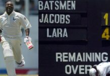 Brian Lara 400 not out vs England