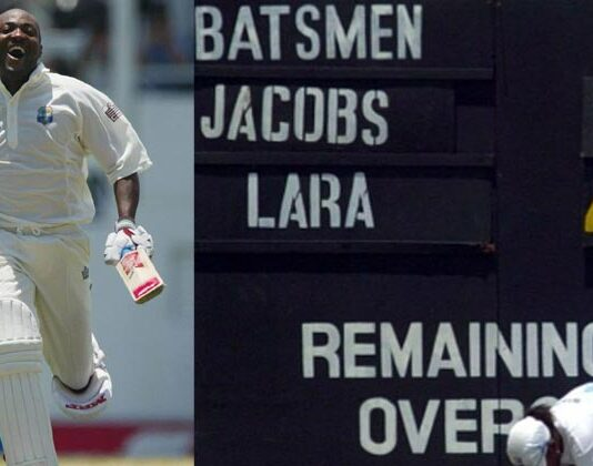 Brian Lara 400 not out vs England