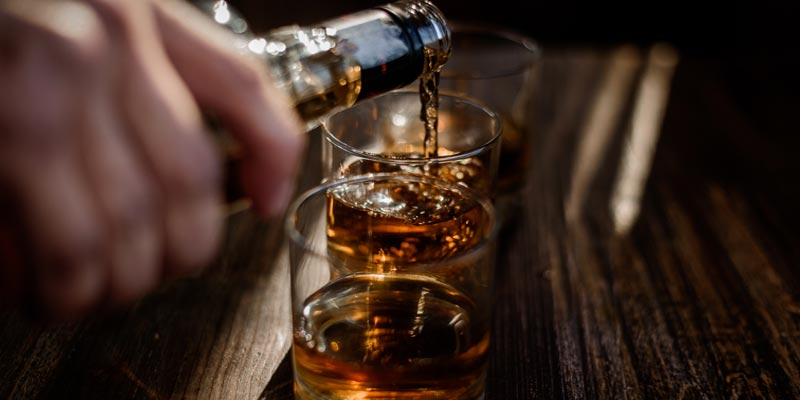 Alcohol in Glass   Causes of Fatty Liver