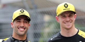 Nico Hulkenberg | Daniel Riccardo and Nico Hulkenberg