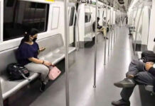 Delhi Metro Passengers Fined for Not Wearing Mask