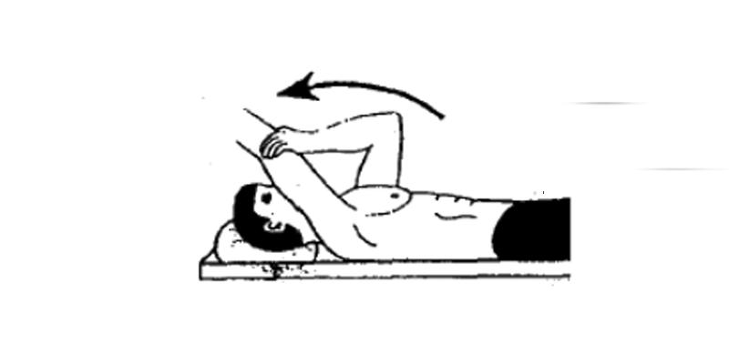 Supine Passive Arm Elevation