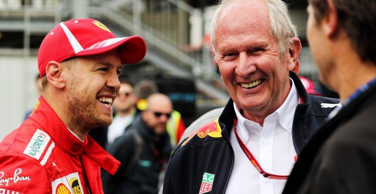Helmut Marko on Sebastian Vettel