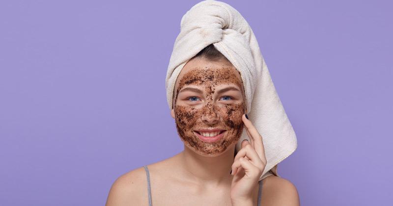 Women Applying Face Scrub | How to Exfoliate Skin