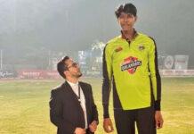 Mudassir Gujjar | Tallest Bowler and Cricketer