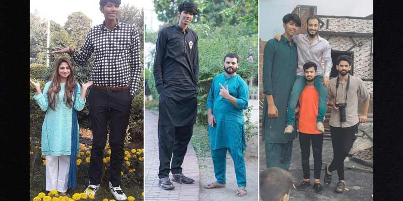 Mudassir Gujjar Tallest Pakistani Bowler