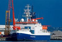 Polarstern Docked in Germany