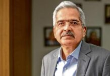 RBI Chief Shaktikanta Das