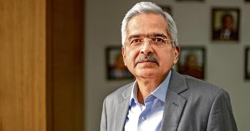 RBI Chief Shaktikanta Das