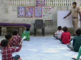 Than Singh Teaching Under privileged Students
