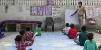 Than Singh Teaching Under privileged Students