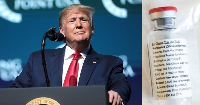 Trump Remark On Remdesivir